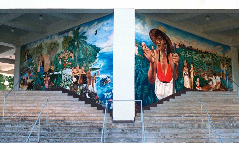 Murals And Public Art Of Calley ONeill Big Island Artist