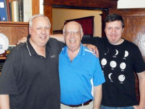 Dad, Grandpa, John--three generations of Calls