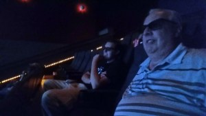 We went to an early showing, so the theater wasn't crowded at al