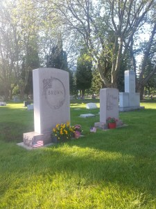 Brown Grave Markers 4