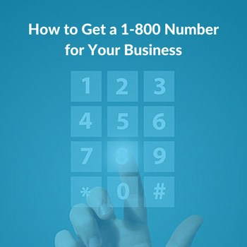 how to get a 1800 number
