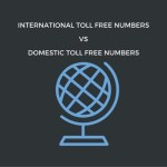 International Toll Free Numbers vs Domestic Toll Free Numbers