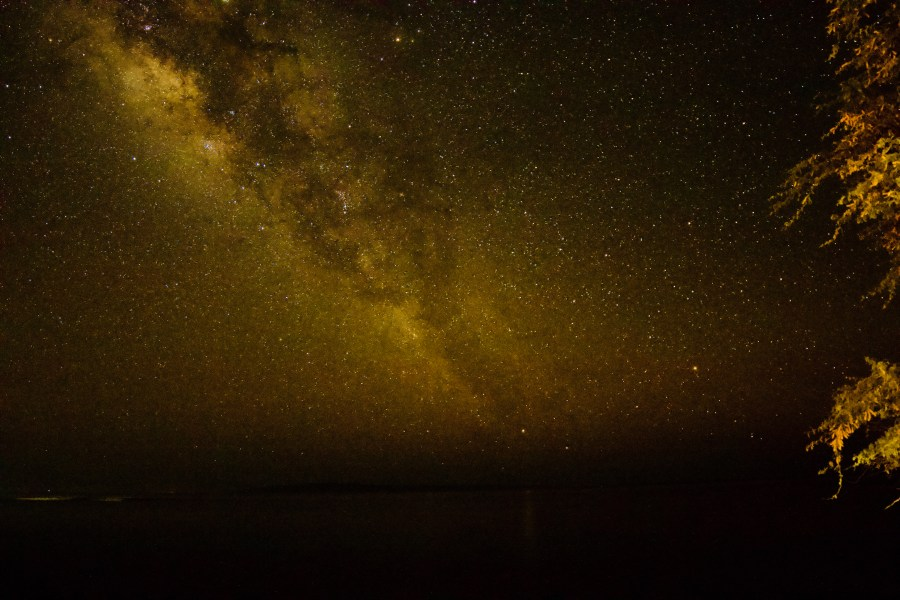Milky Way Over Kaho'olawe