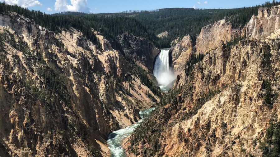 The Lower Falls of Grand Canyon of the Yellowstone