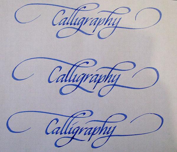 word calligraphy