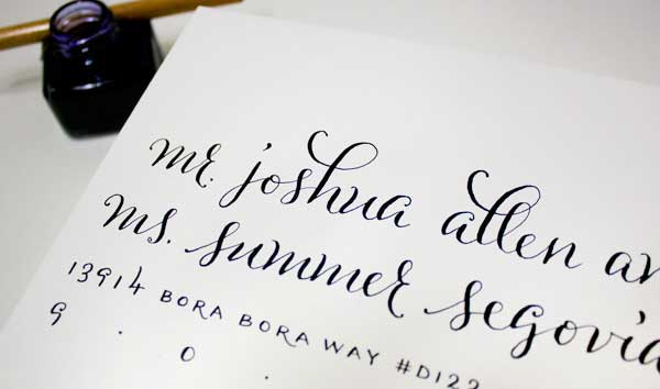 plurabelle calligraphy