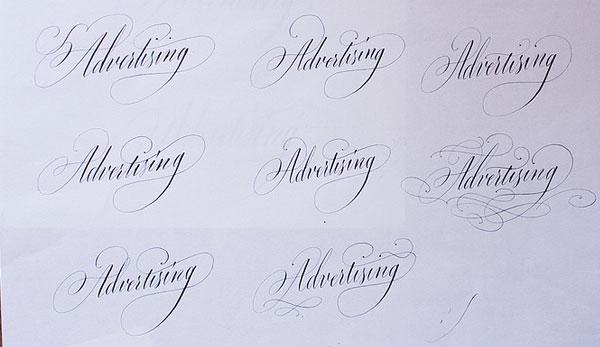 Tobias-David Albert callligraphy