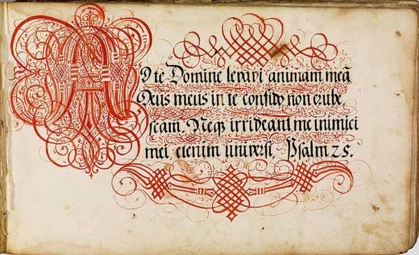 bibliodyssey calligraphy