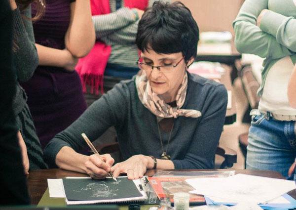 Veronika Chebanyk calligraphy