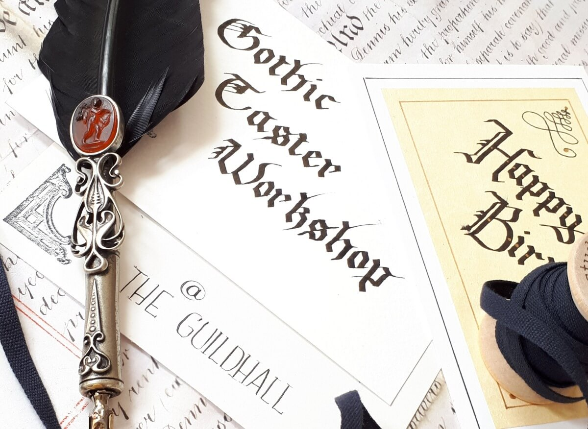 Gothic Taster Workshop at Leicester Guildhall