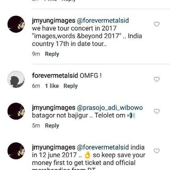 Dream Theater India Tour 2017 concert