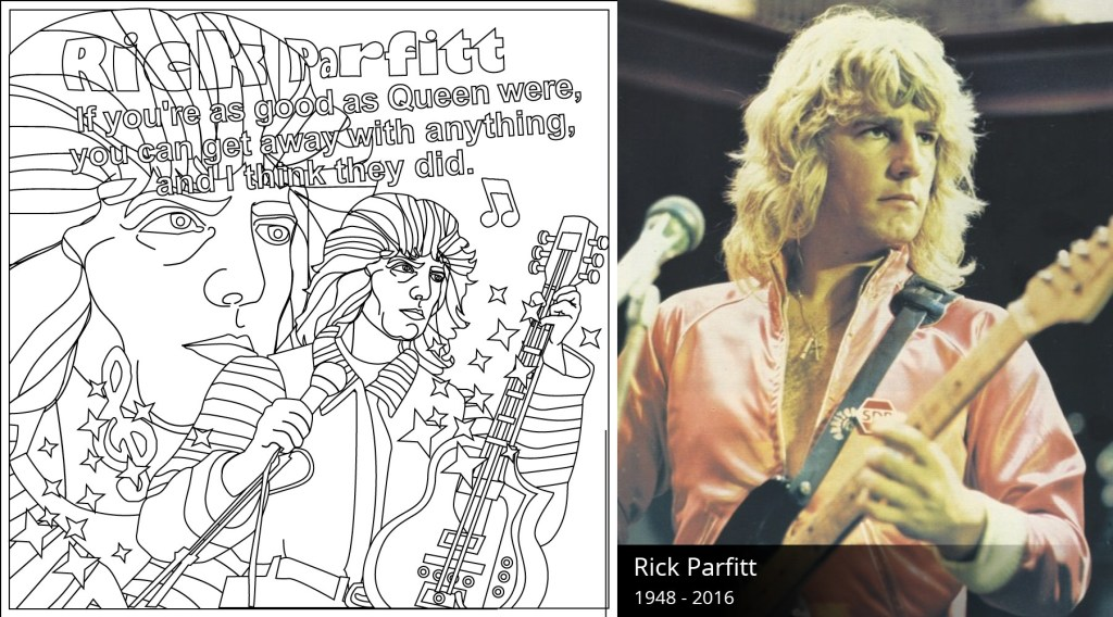 Rick Parfitt Coloring