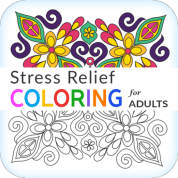 stress relief coloring app