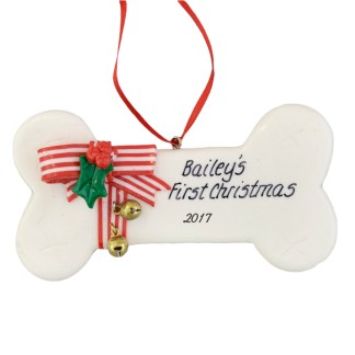 puppys first personalized christmas ornaments