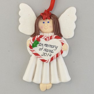 In Memory of Grandma Personalized christmas Ornaments