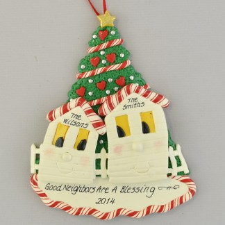 Neighbors Personalized christmas Ornaments