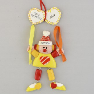 Clown Personalized Ornament