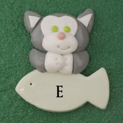 Our Family of 7 with 3 Pets Personalized Christmas Ornament-7002