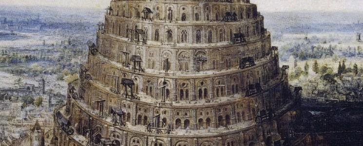 Tour de Babel de Lucas Van Valckenborch