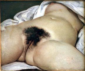 Origine du monde de Gustave Courbet
