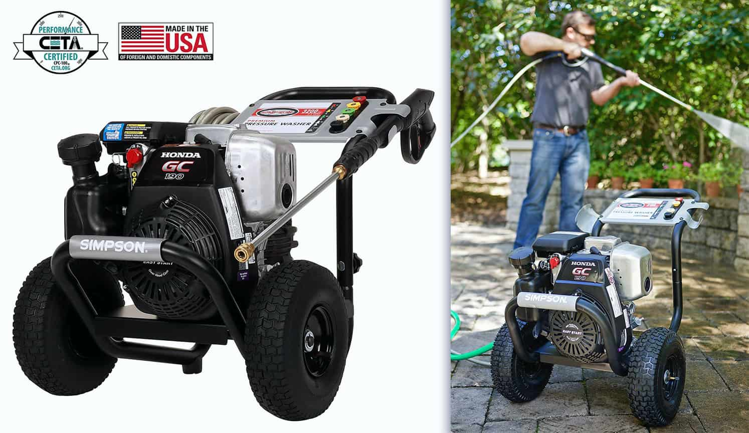 Gas Pressure Washer as the third related product of the Best Electric Pressure Washer