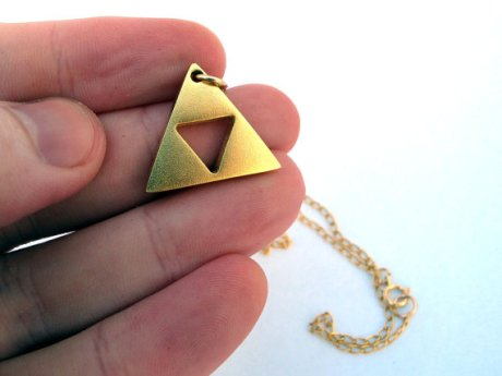 Triforce collier