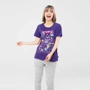 t-shirt femme Uniqlo, collection Pokémon