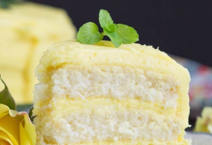 Lemon Layer Cake With Lemon Curd And Lemon Buttercream Call Me Pmc