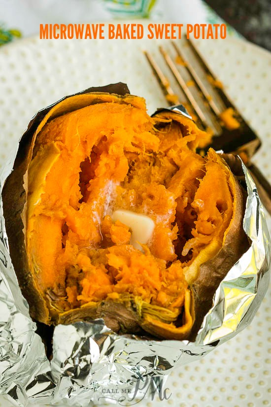 microwave baked sweet potato recipe