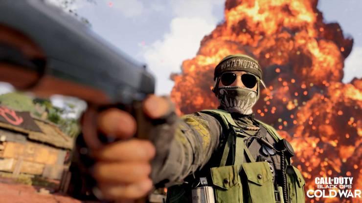 Naga operador Call of Duty Black Ops: Cold War