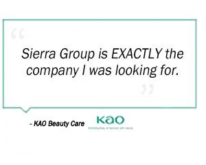 KAO Beauty Care testimonial