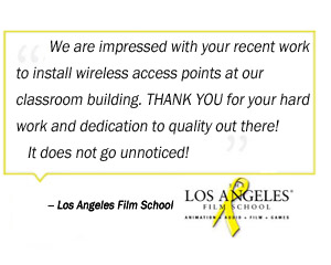 Los Angeles Film School Testimonial