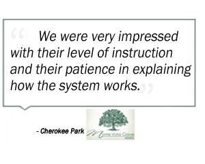 Cherokee Park Testimonial