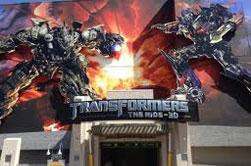 transformers 3d ride
