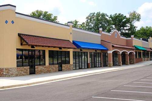 small shopping center design