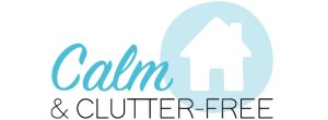 Calm and Clutter-Free declutting logo
