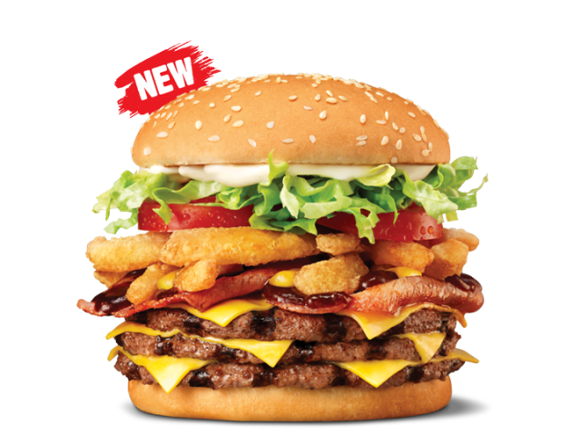 Calories in Triple Whiskey River Whopper