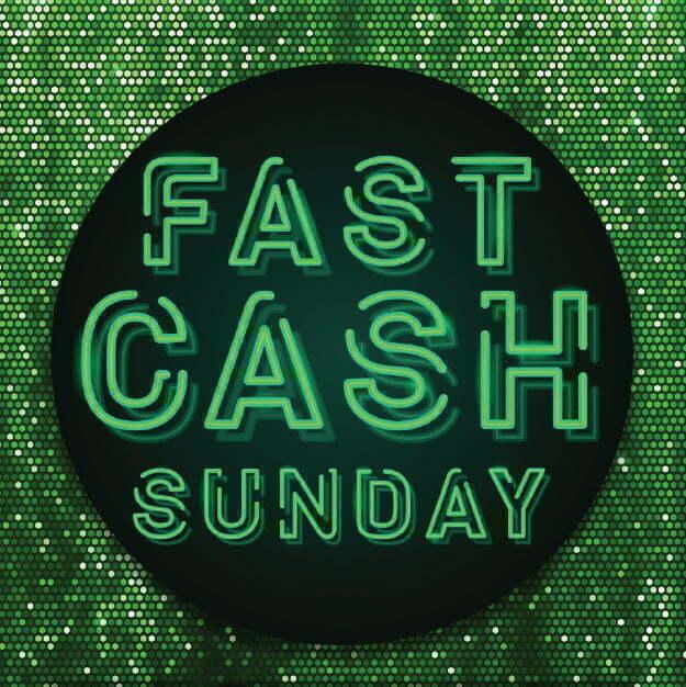 OCT18 - Coastal Rewards Player Elite - Gameshows - Sunday Fast Cash