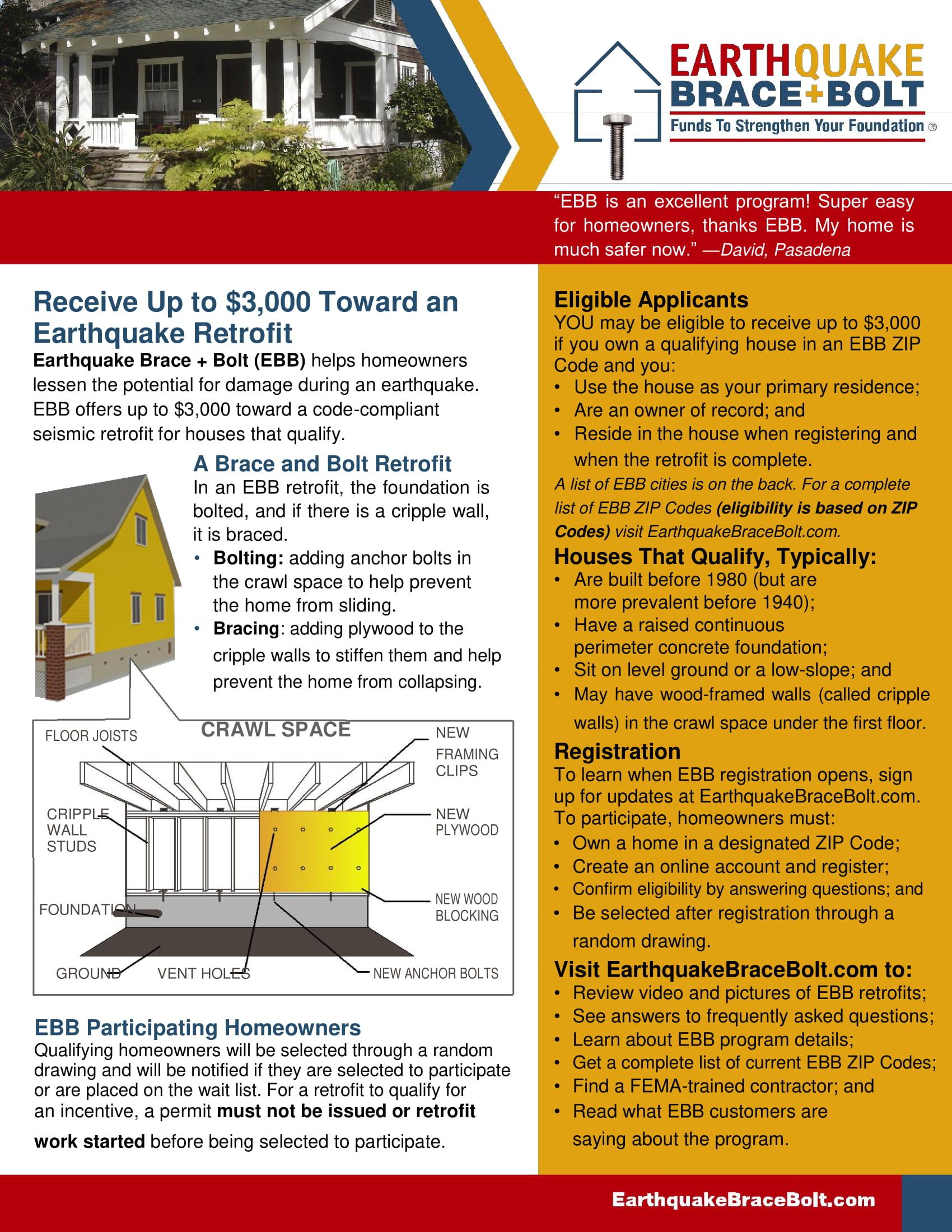 10 Best For Brochure Earthquake Preparedness