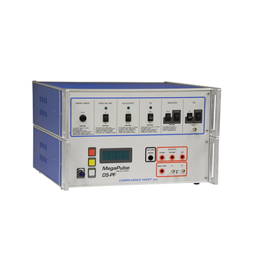 Compliance West MegaPulse D5-PF Defib-proof and Energy Reduction Tester
