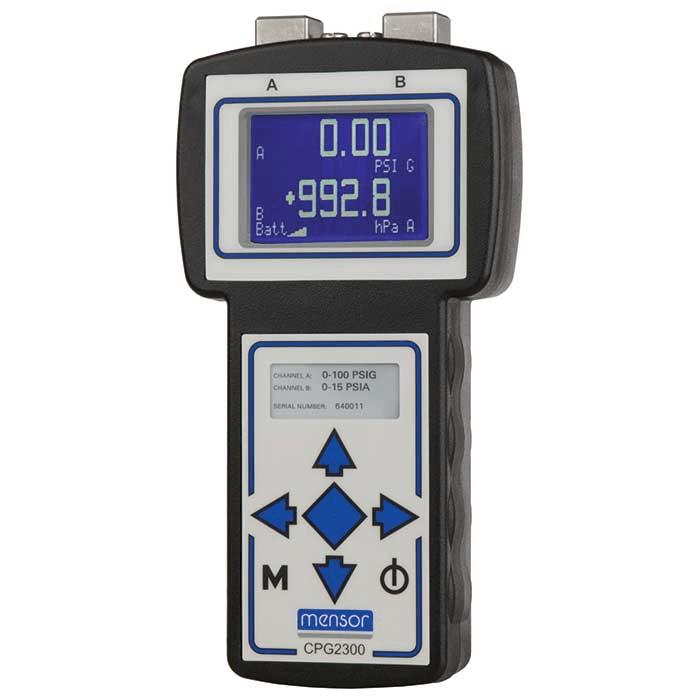 Mensor CPG2300 Portable Digital Pressure Gauge