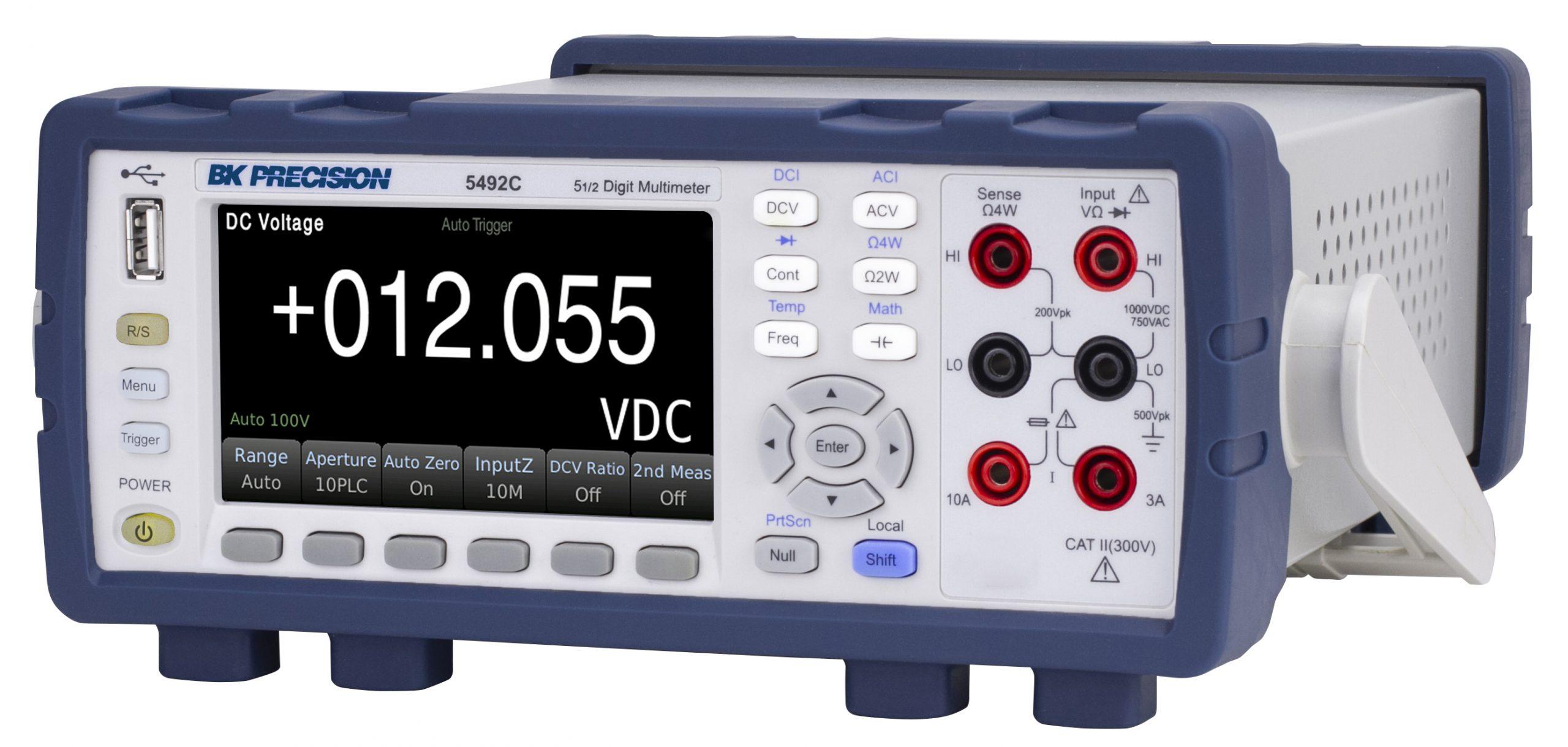 B&K Precision 5492C Digital Benchtop Multimeter, 5.5 Digit