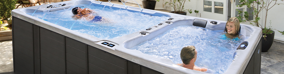 Cal Spas Unveils New Swim Spa Dual Zone Model