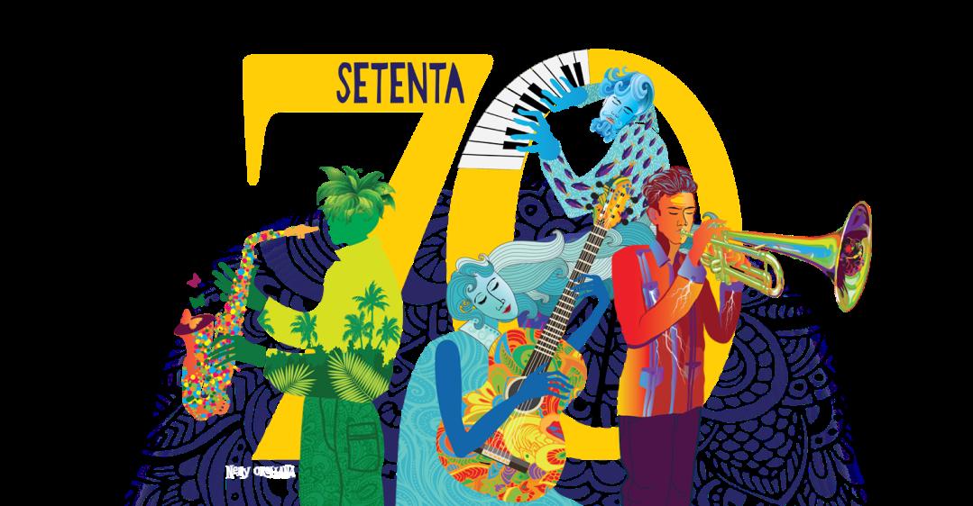 Setenta Musicians Illustration by Nery Orellana