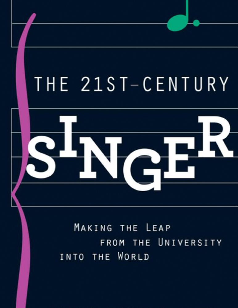 Book cover of The 21st Century Singer