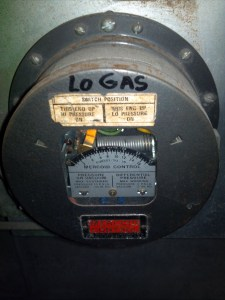 Mercury Containing Gas Meter identified during hazardous material survey