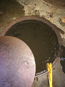 Poor Maintenance Of Flammable Waste Trap Results In Leaks