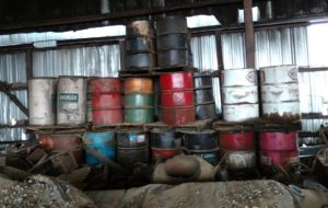 Leaking Hazardous Waste Drums Discovered During Facility Phase 1 Environmental Inspection