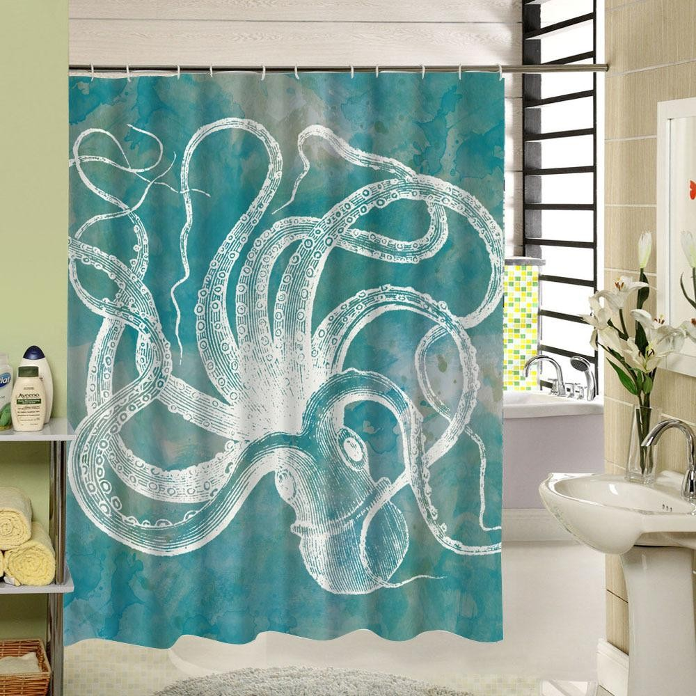 90 Inch Shower Curtain