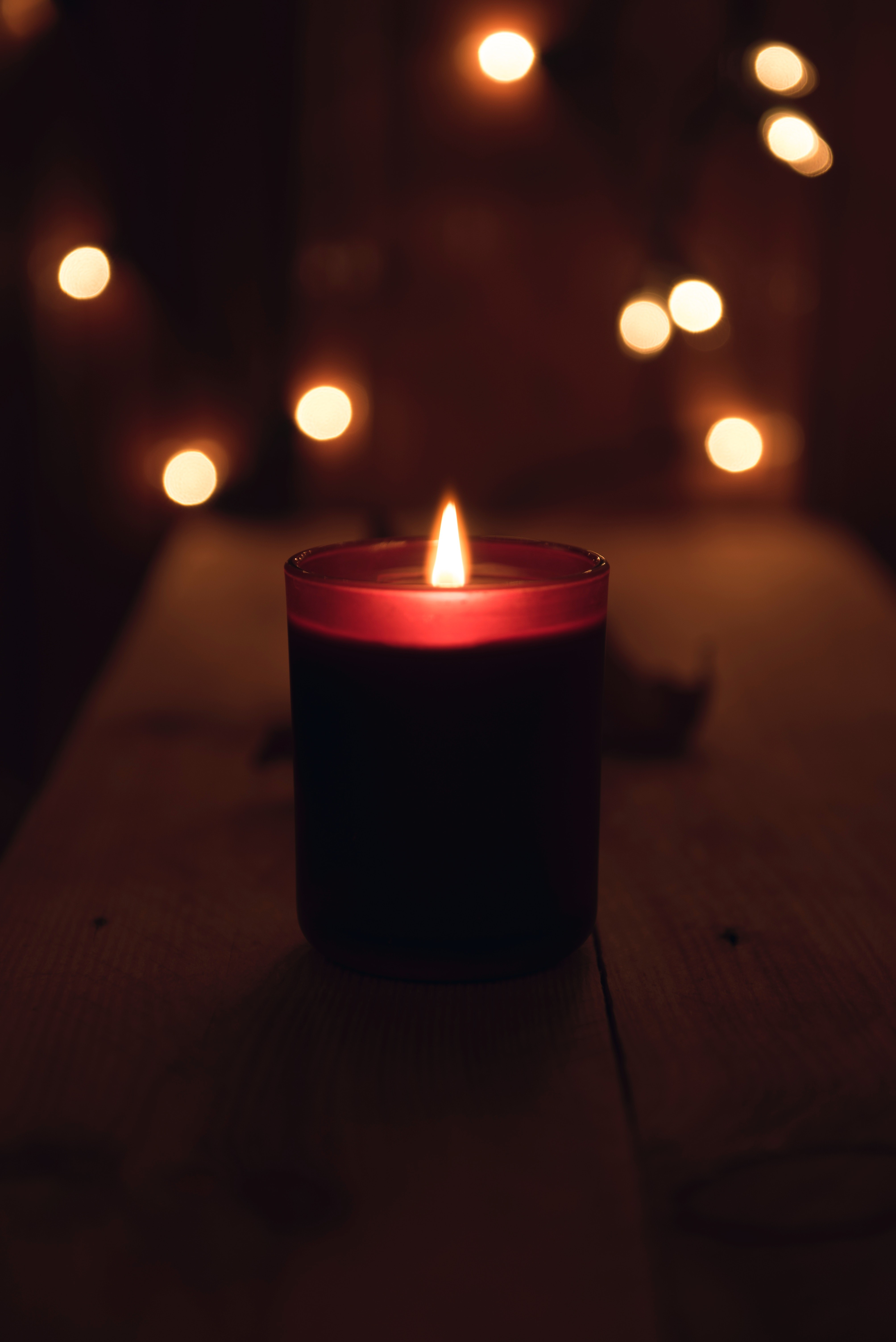 Advent Love Candle
